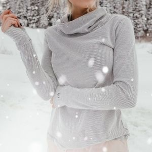 Albion Fit honeycomb cowl neck Athletic Top